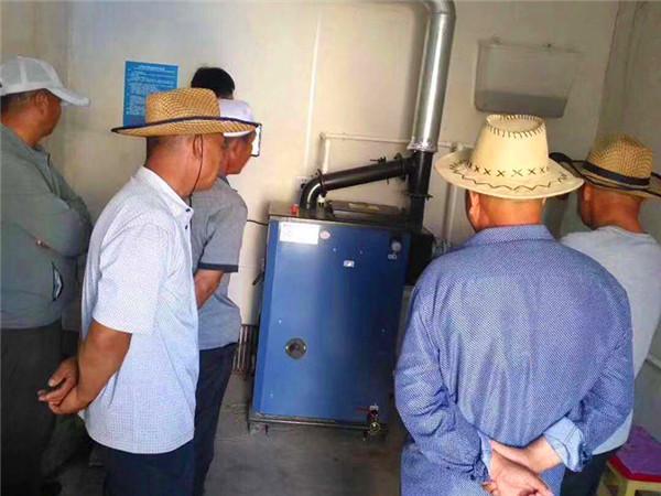 生物质锅炉客户