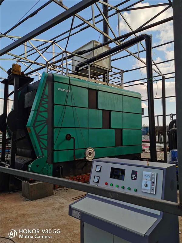 生物质锅炉安装