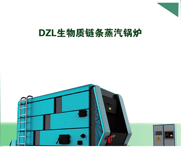 甘肃DZL生物质链条蒸汽锅炉