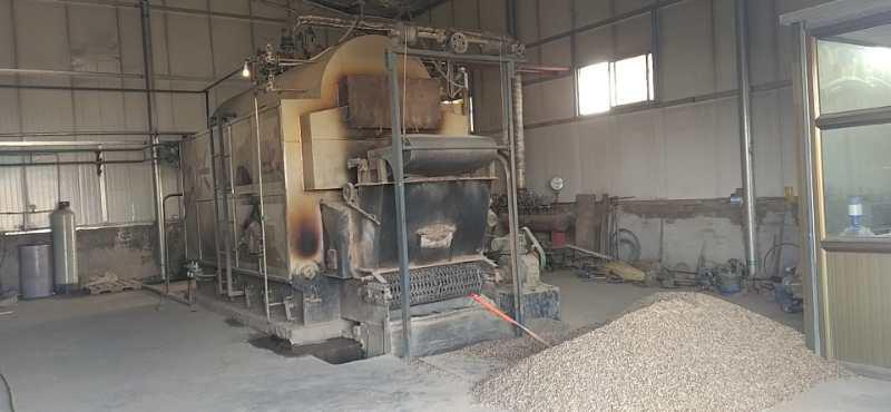 吴忠市饲料加工有限公司生物质颗粒使用案例