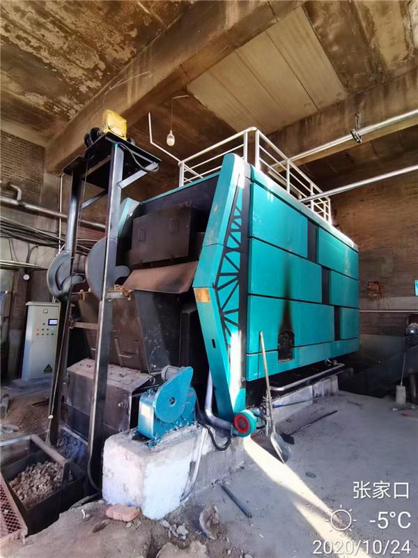 生物质锅炉安装案例