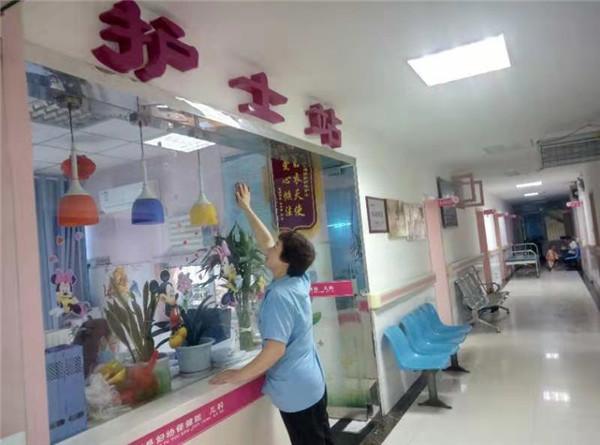 医院保洁展示