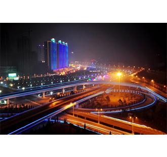 蘭州濱河路亮化工程