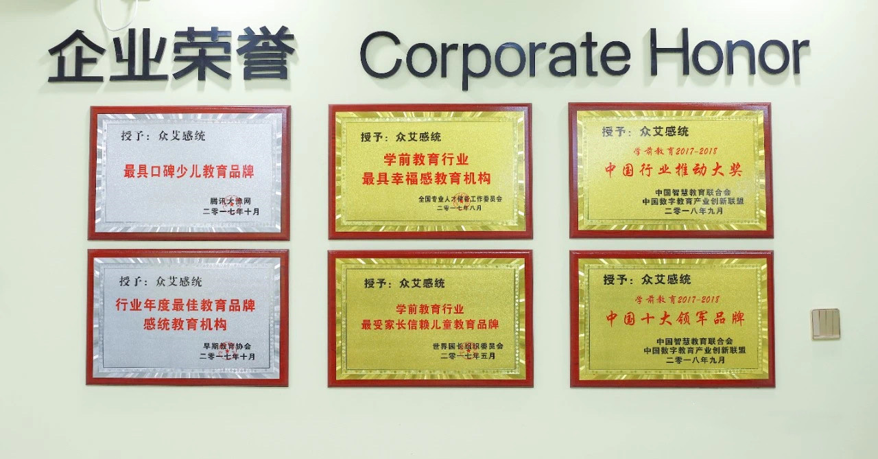 企业荣誉资质