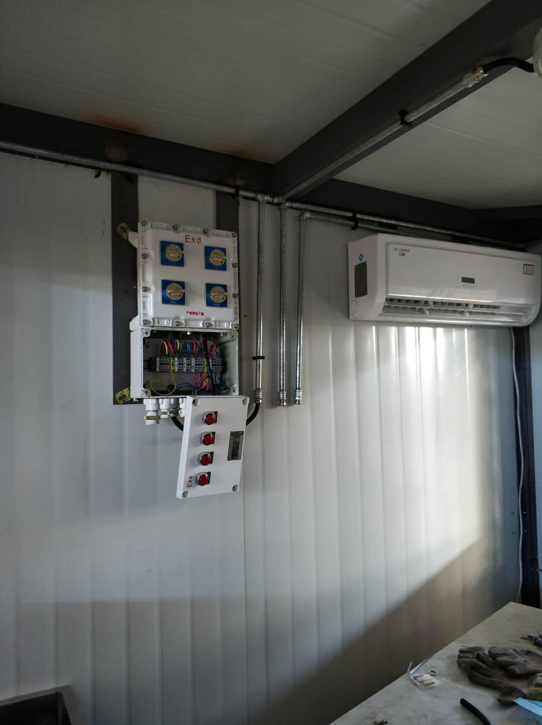 西安防爆空调安装案例