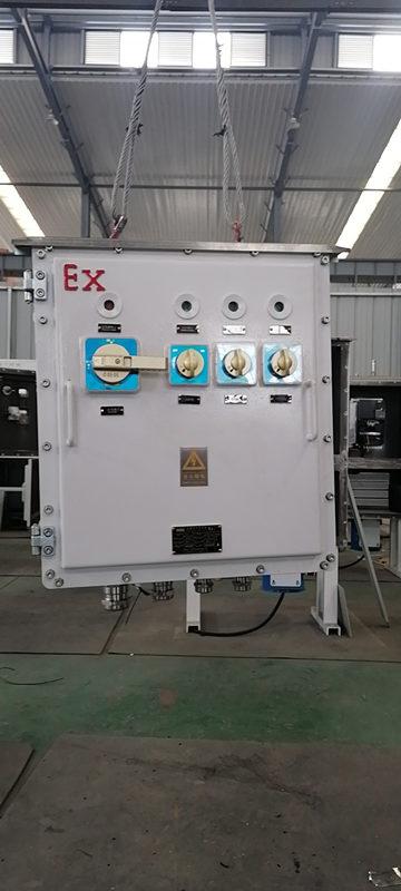 防爆控制箱接头过热怎么处理?西安防爆控制箱厂来教大家