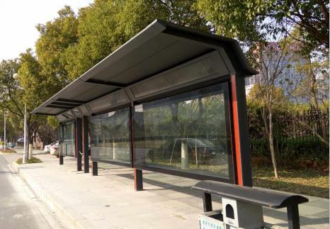 大美智造为你介绍,几种常见的四川公交站台的设计
