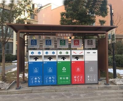 妙不可言的城市街具之垃圾分类宣传岗亭!
