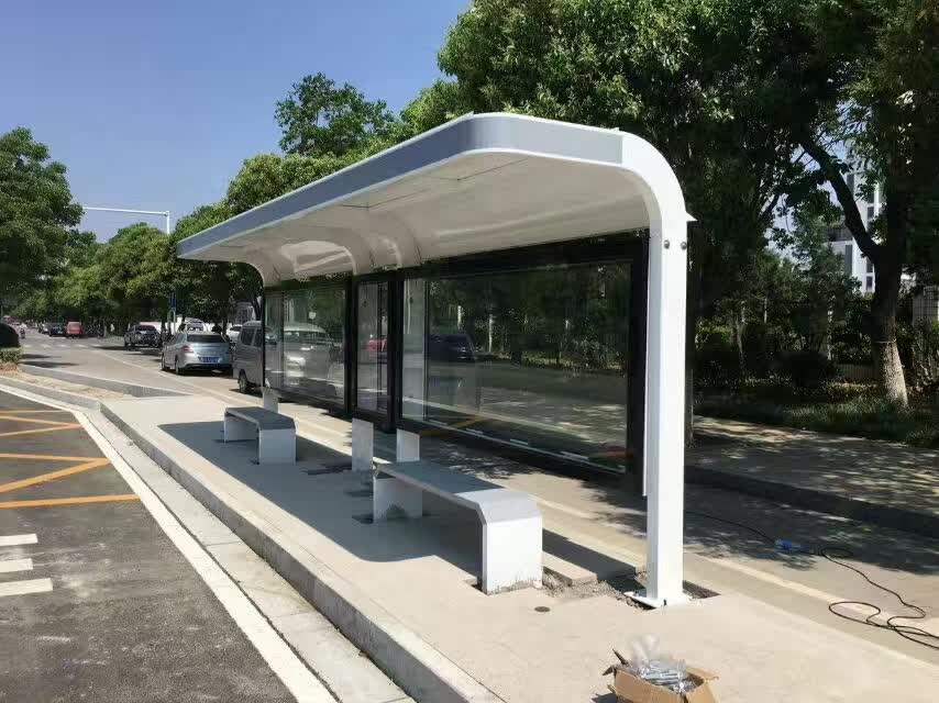 四川公交站台设计
