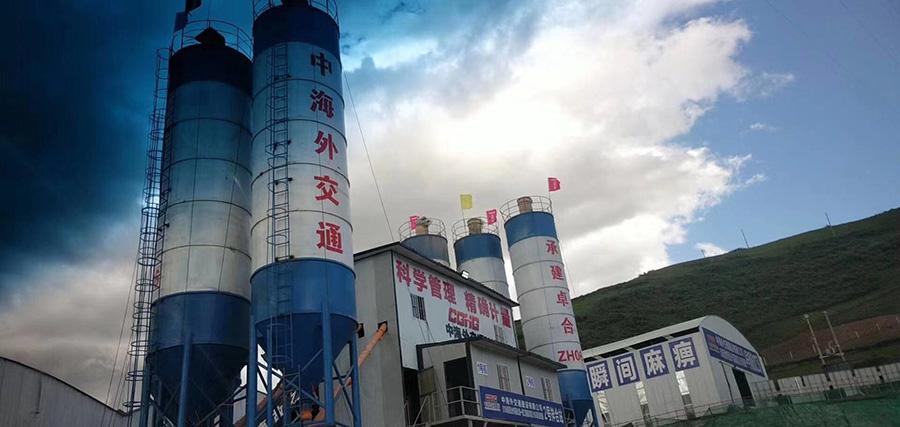 中海外交通电子地磅安装