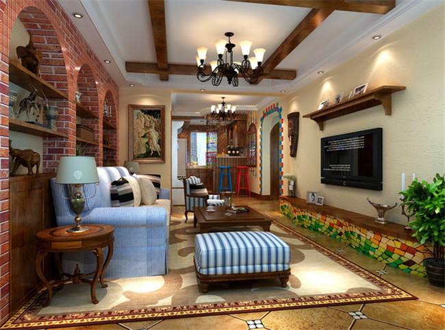 陕西婚房设计 美式风格
