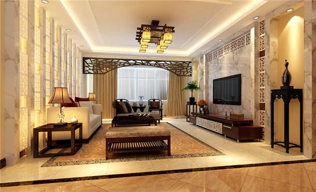 陕西婚房装修 中式风格