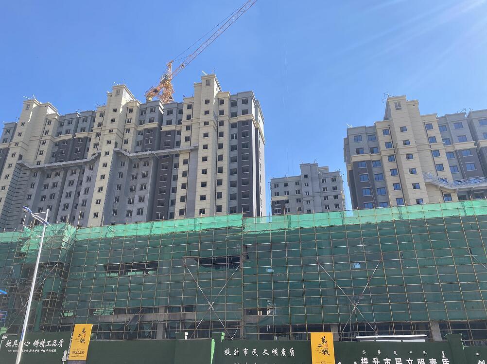 乌海雅泰合作金田外墙保温工程案例展示