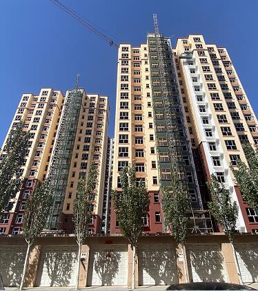乌海雅泰合作海晨二期外墙保温工程案例