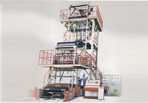 哈尔滨三层共挤薄膜吹塑机组价格