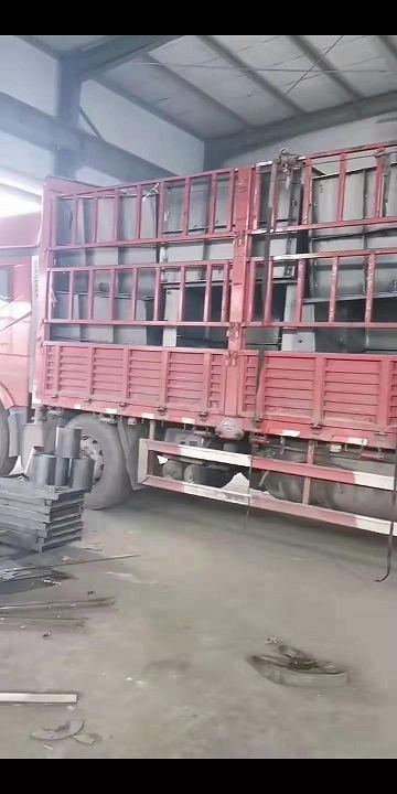 流水槽模具装车发货