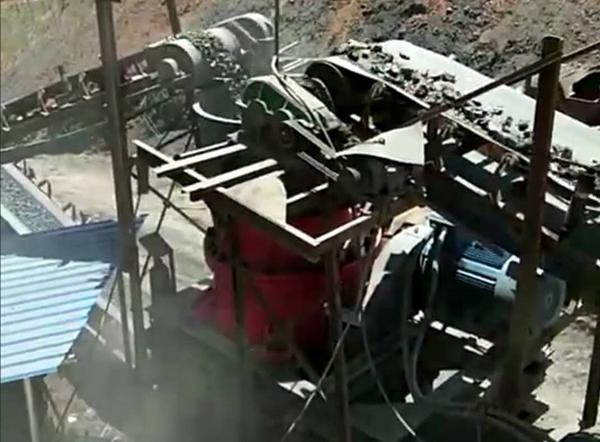 贵州省瓮安县玄武石生产线