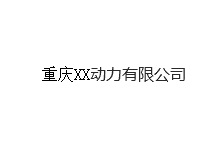 重庆XX动力有限公司