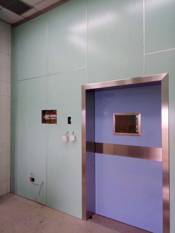 铅门的优势以及安装过程