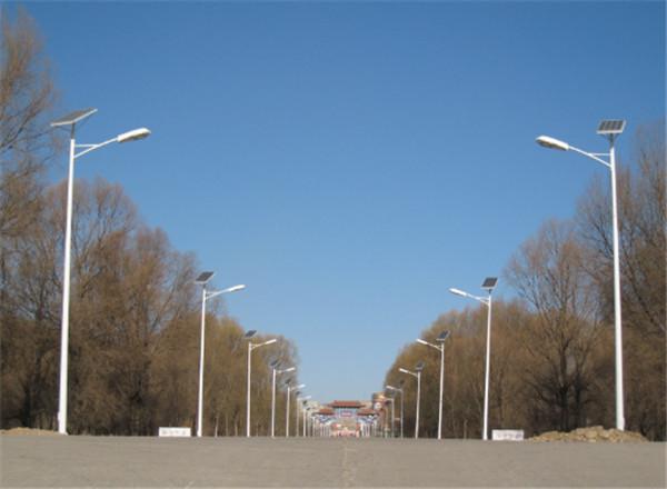 河南太阳能路灯工程案例