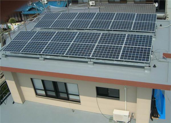 家用光伏发电组件应该怎么安装呢?需要注意些什么?