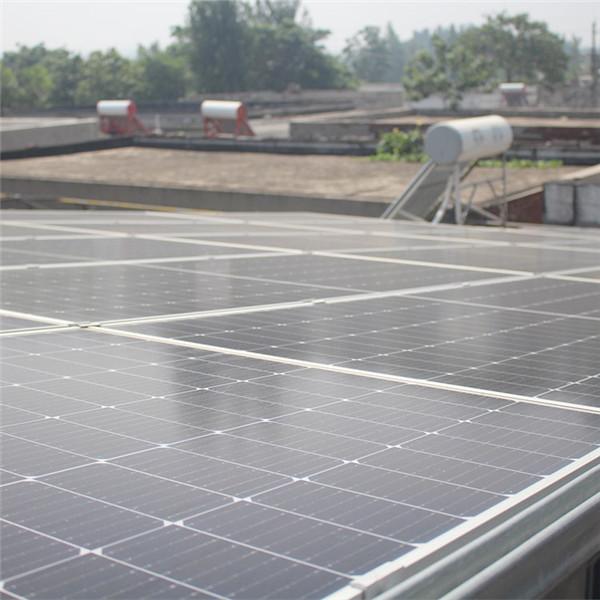 屋顶光伏发电施工