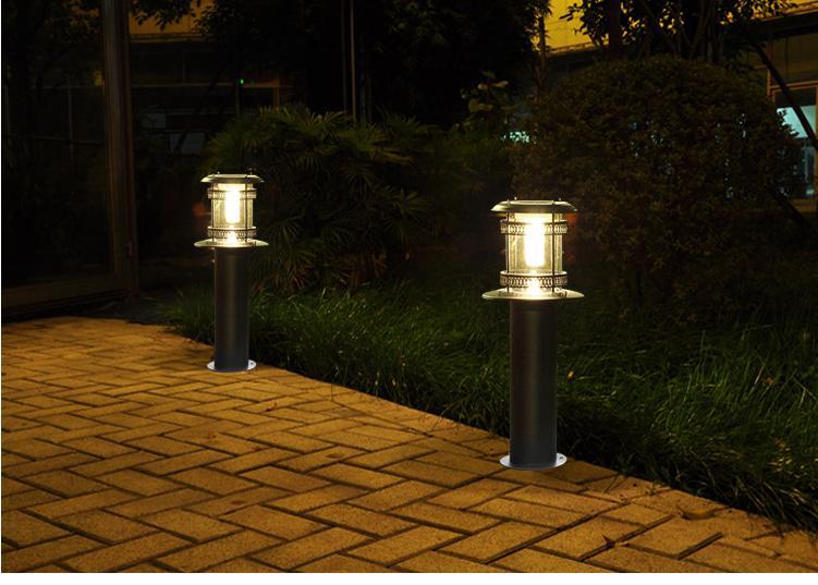 简述南充草坪灯的的安装知识和作用以及高度等干货