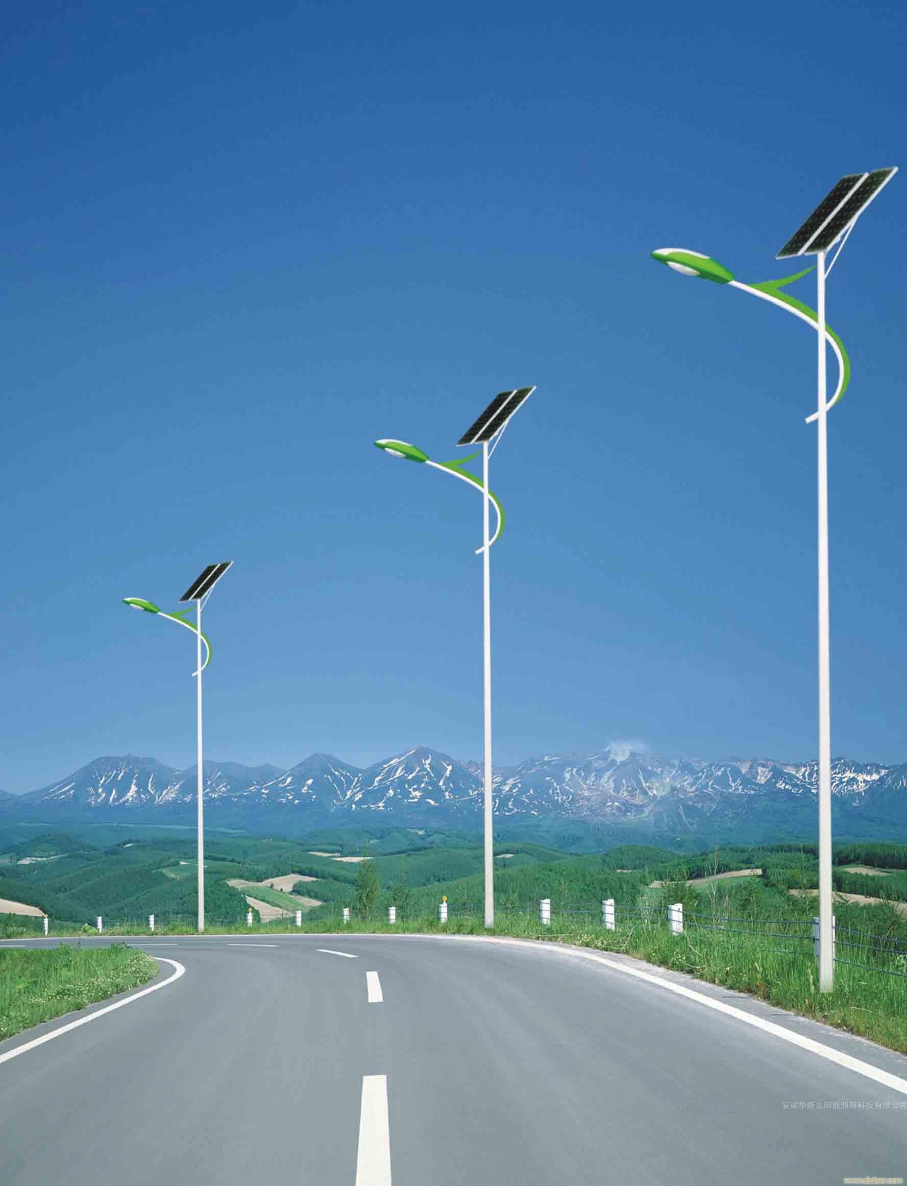 四川太阳能路灯为什么使用LED