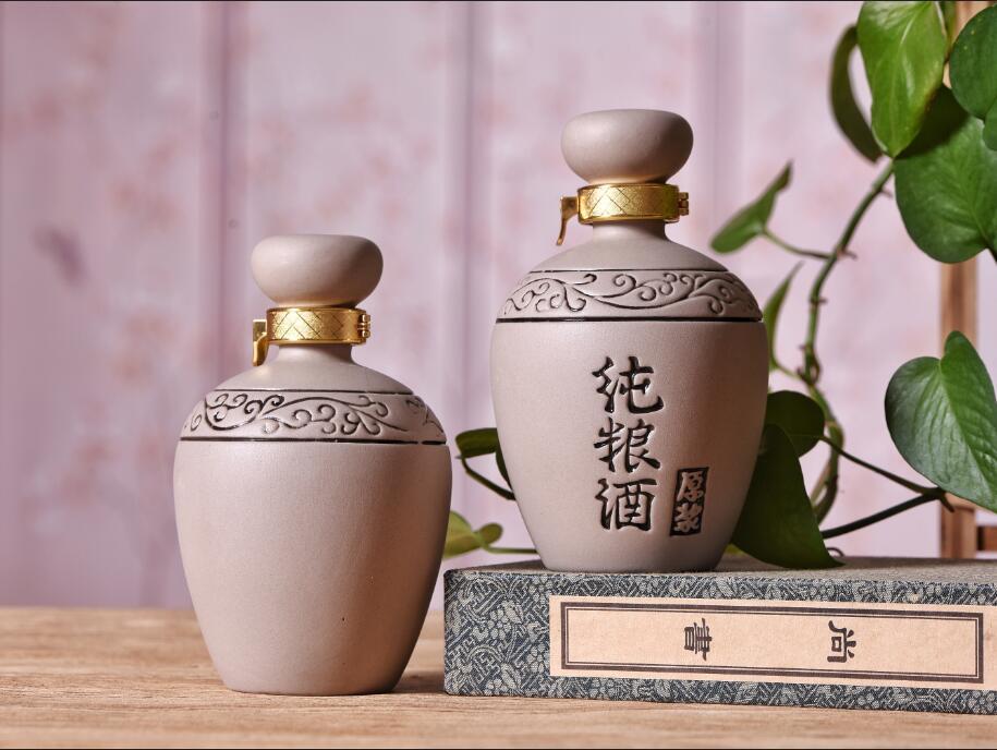 四川土陶酒瓶-纯酿酒瓶