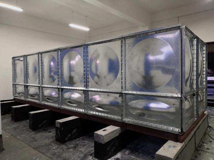 镀锌水箱安装时不打底座基础会带来什么隐患?