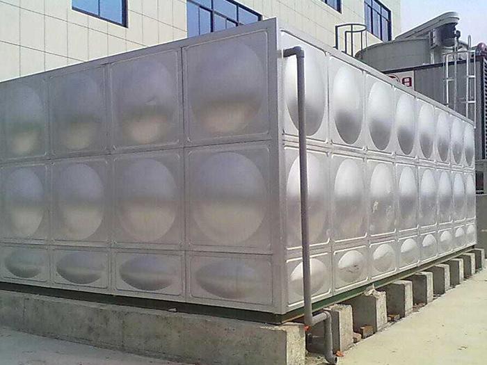 银川不锈钢水箱厂家施工图