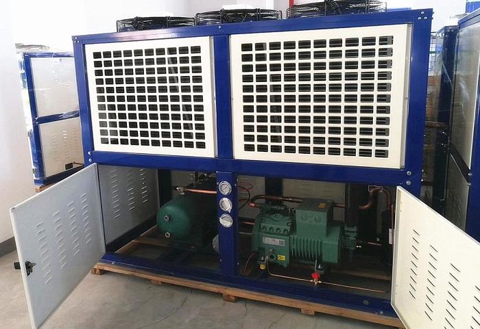 U型式箱体制冷压缩机组