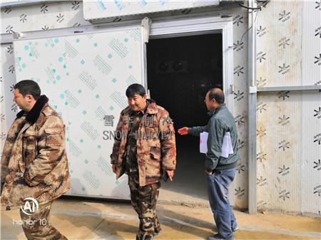 陕西雪丰制冷工程亲赴新疆进行冷库操作规程、冷库专业知识的培训