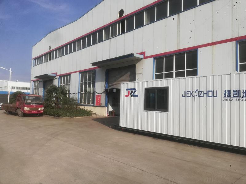 捷凯洲机械设备生产厂房
