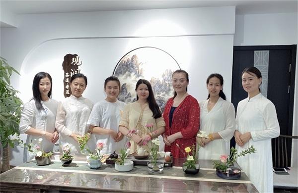 观润堂茶文化—花艺课堂作品