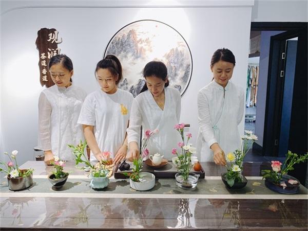 观润堂茶文化—课堂风采作品
