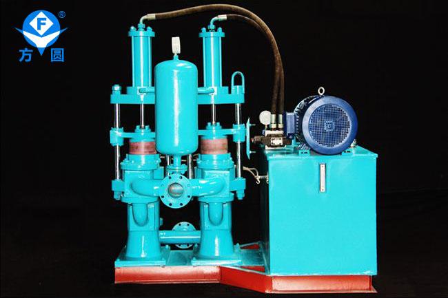 YB350型雙缸柱塞泵