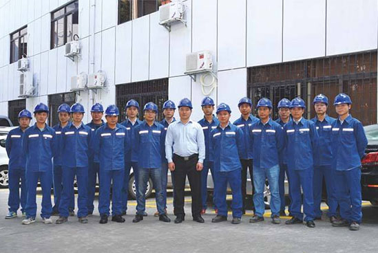 方圆机械工程团队
