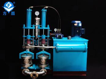 壓濾機進料泵輸出壓力異常解決方法