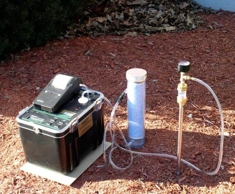 土壤氡浓度检测