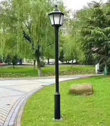市电草坪灯案例