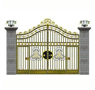 欧式铁质大门