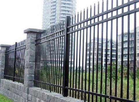商业场地锻造围栏