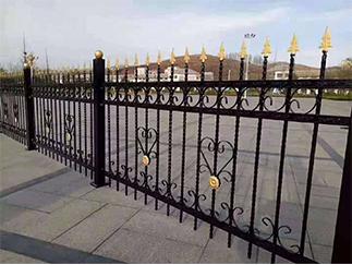厂区防爬锻造护栏