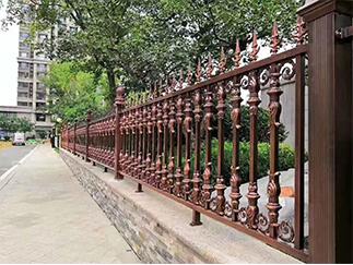 焊接防爬护栏