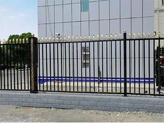 警卫站焊接护栏