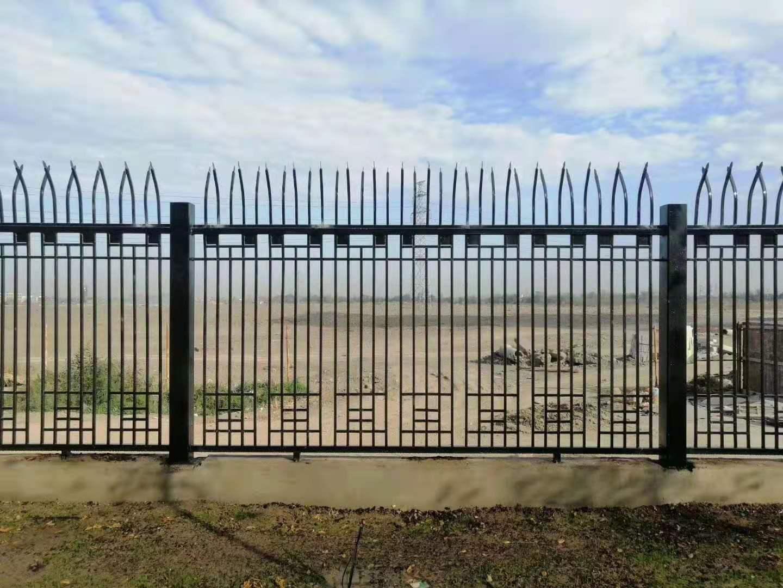 型钢加密防爬护栏