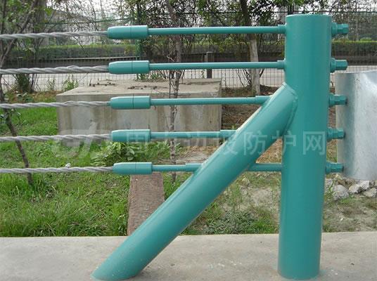 石家庄喷塑缆索护栏