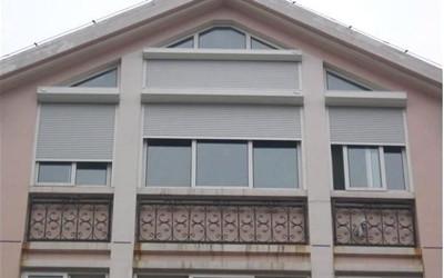 详述陕西卷帘门窗的适用范围及优点