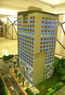 西宁山体模型